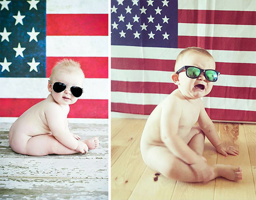 """Nỗi lòng của em bé khi bị bố mẹ """"ép"""" đi chụp hình - 9"""
