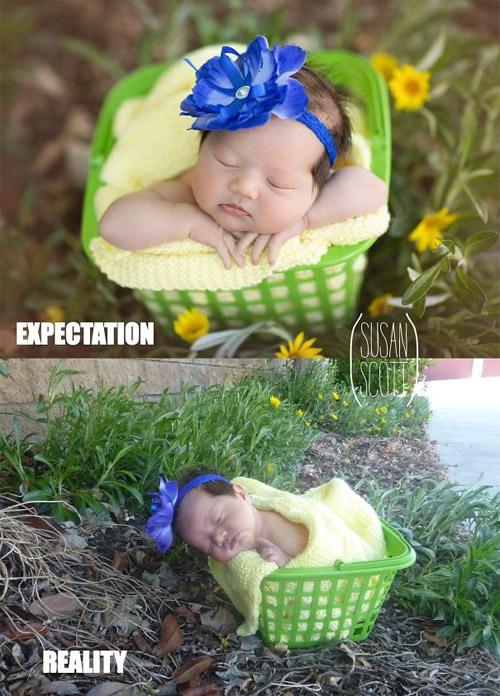 """Nỗi lòng của em bé khi bị bố mẹ """"ép"""" đi chụp hình - 13"""