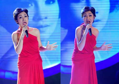 """Khoảnh khắc """"dị"""" của Hòa Minzy tại Gương mặt thân quen - 1"""