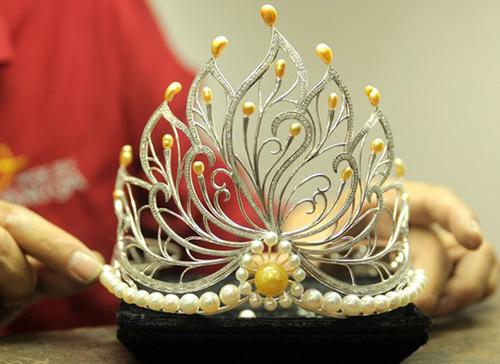 Bí mật thú vị về vương miện 2,2 tỷ của Hoa hậu VN 2016 - 3