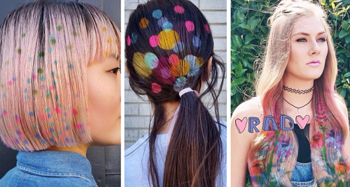 Tóc phun nhuộm Graffiti khuấy động giới trẻ Âu Mỹ - 9