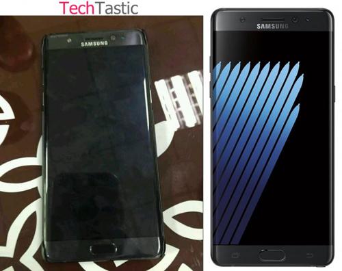 Samsung Galaxy Note7 lộ ảnh thực tế, quét mống mắt - 1