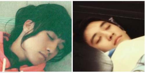 """Dáng ngủ """"bá đạo"""" của em út nhóm Big Bang - 7"""