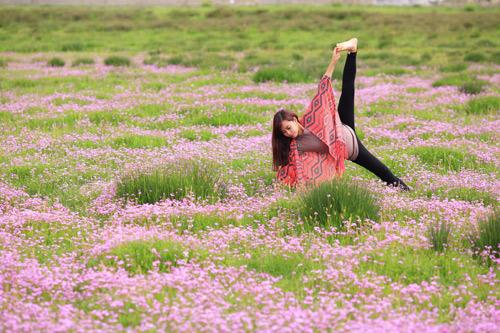 """Cô gái Việt mang yoga """"đi khắp thế gian"""" - 5"""