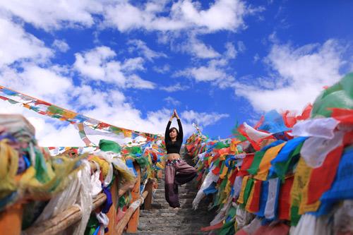 """Cô gái Việt mang yoga """"đi khắp thế gian"""" - 7"""