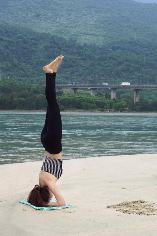"""Cô gái Việt mang yoga """"đi khắp thế gian"""" - 12"""