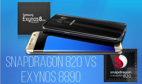 Cân đo hiệu suất chip Snapdragon 820 và Exynos 8890 trên Galaxy S7 - 1