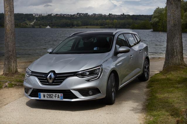 Renault Megane Estate mới lộ diện - 1