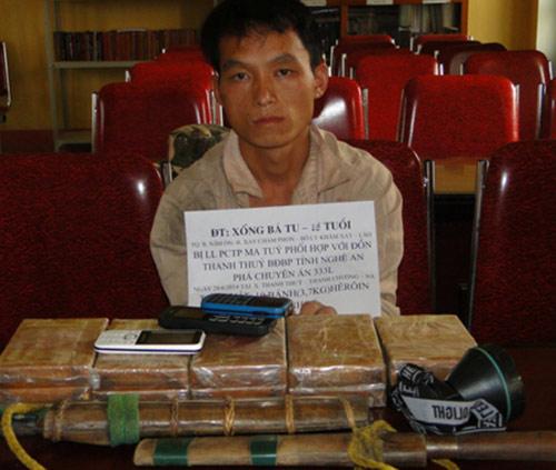 Buôn ma túy xuyên quốc gia, 1 người nước ngoài lãnh án tử - 1