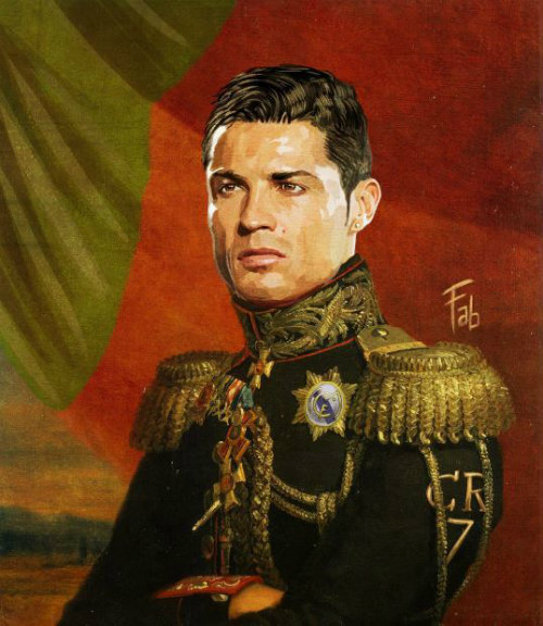 Ronaldo hóa đại tướng quân dũng mãnh sau Euro - 1