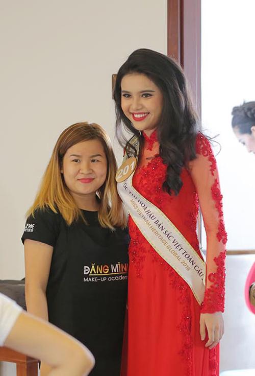 Em gái HH Diệu Hân nổi bật ở Hoa hậu Bản sắc Việt - 4