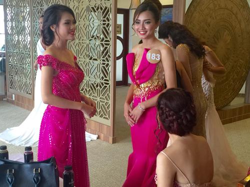 Em gái HH Diệu Hân nổi bật ở Hoa hậu Bản sắc Việt - 1