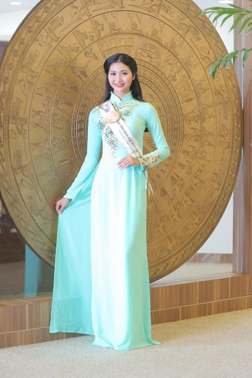 Em gái HH Diệu Hân nổi bật ở Hoa hậu Bản sắc Việt - 11