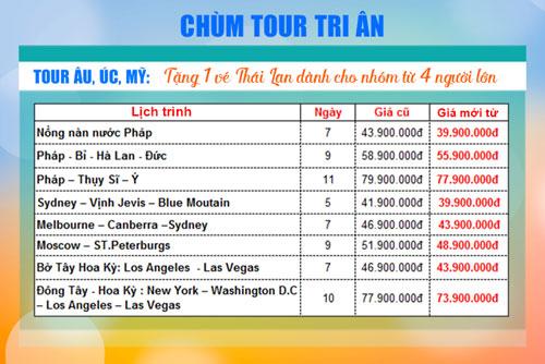 Chùm tour tri ân giảm giá đến 32% - 4