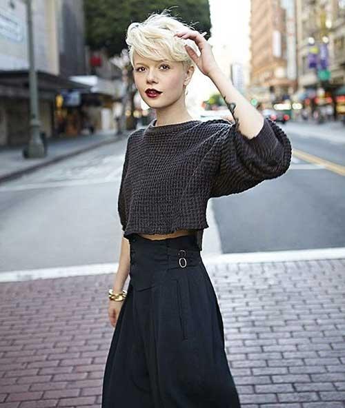 Lợi thế thời trang của một cô nàng tóc ngắn - 3