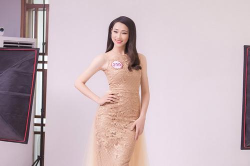Nữ sinh học siêu giỏi, vòng eo 56 đi thi Hoa hậu VN - 12
