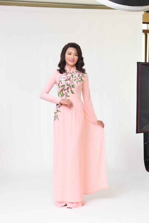 Nữ sinh học siêu giỏi, vòng eo 56 đi thi Hoa hậu VN - 10