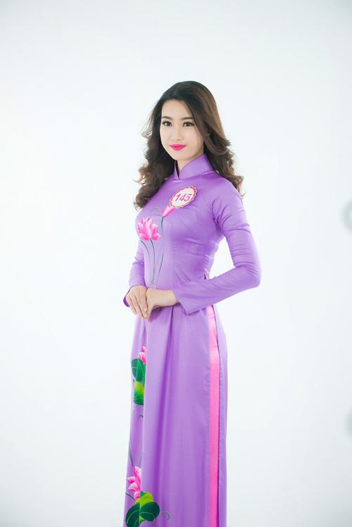 Nữ sinh học siêu giỏi, vòng eo 56 đi thi Hoa hậu VN - 14