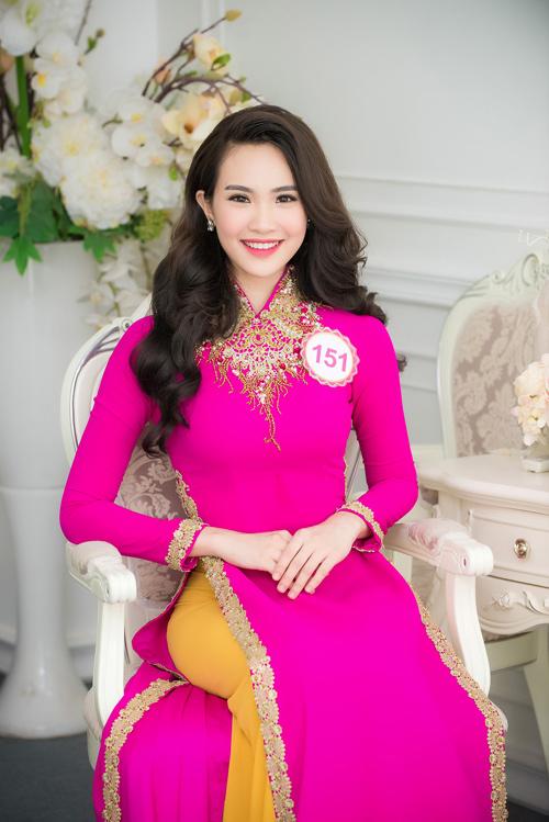 Nữ sinh học siêu giỏi, vòng eo 56 đi thi Hoa hậu VN - 15