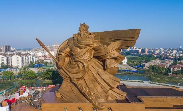 Trung Quốc xây tượng Quan Công cao 48m nặng nghìn tấn - 5