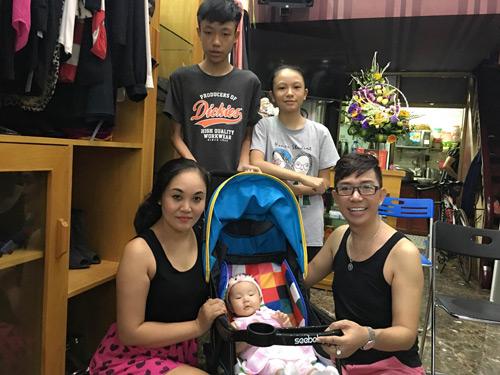 """Long Nhật: """"Biết ơn bà xã đã sinh cho tôi 4 đứa con"""" - 4"""