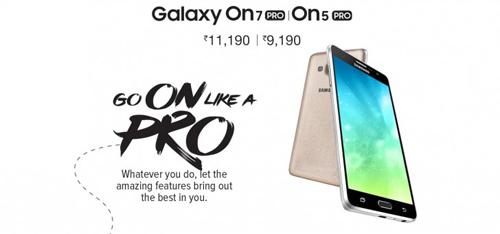 Samsung trình làng Galaxy On5 Pro và On7 Pro - 1