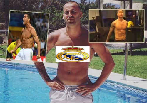 Dàn SAO Real thi nhau khoe bụng 6 múi như Ronaldo - 2