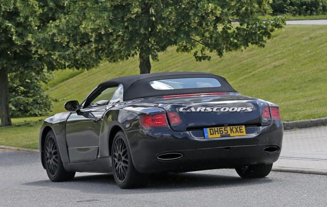 Bentley Continental GTC 2018 lộ thông số kỹ thuật - 2