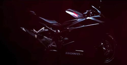 Lộ video Honda CBR250RR mới - 3