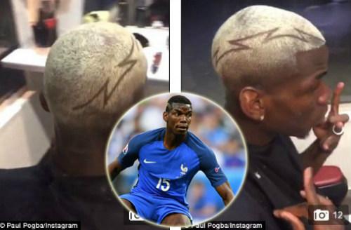 """Mặc MU và """"siêu cò"""", Pogba tới Mỹ ăn chơi khoe tóc """"dị"""" - 1"""