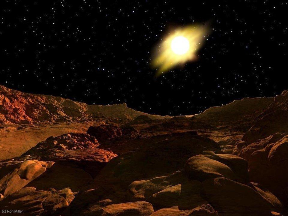 Mặt trời trông thế nào từ các hành tinh khác? - 1