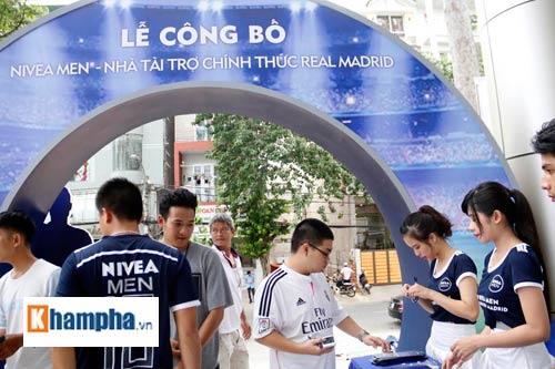 """Sôi động lễ công bố cuộc đua """"Đường tới Real Madrid"""" - 1"""