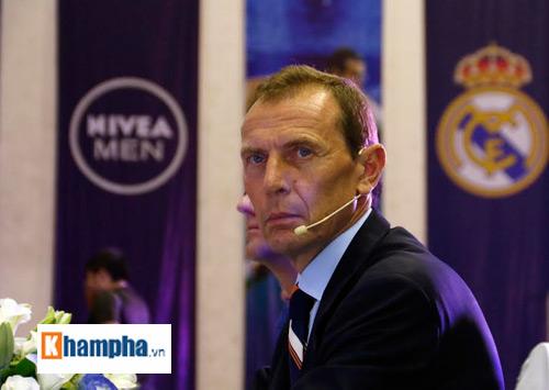 """Sôi động lễ công bố cuộc đua """"Đường tới Real Madrid"""" - 2"""