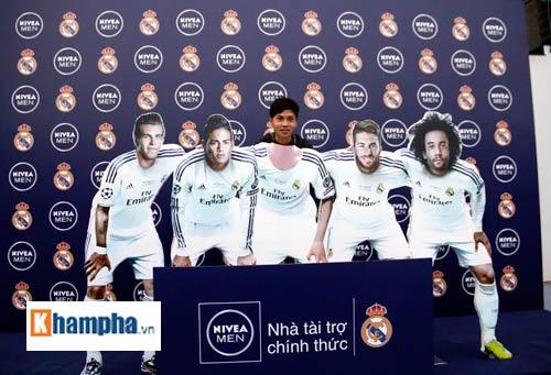 """Sôi động lễ công bố cuộc đua """"Đường tới Real Madrid"""" - 4"""