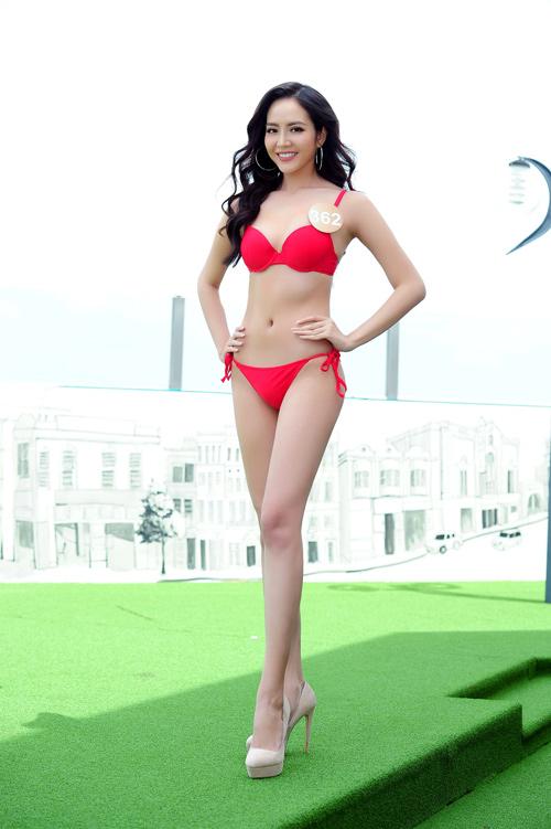 Ảnh bikini nóng bỏng của dàn thí sinh HH Bản sắc Việt - 2