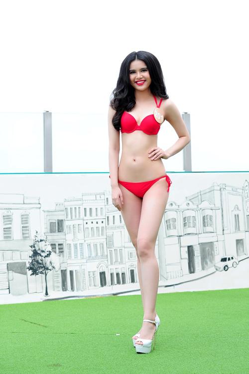 Ảnh bikini nóng bỏng của dàn thí sinh HH Bản sắc Việt - 7