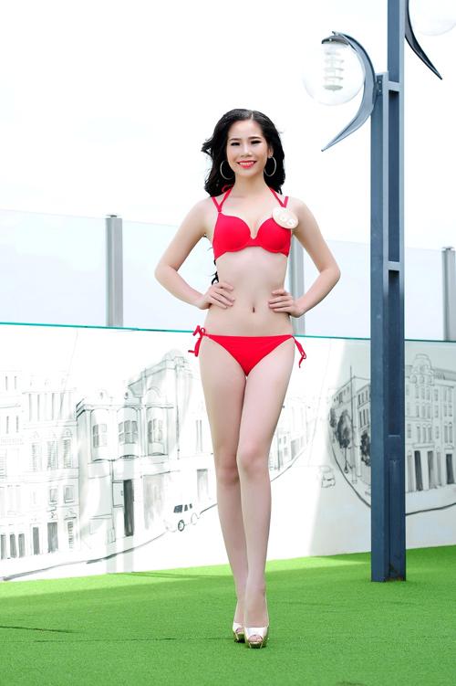 Ảnh bikini nóng bỏng của dàn thí sinh HH Bản sắc Việt - 4