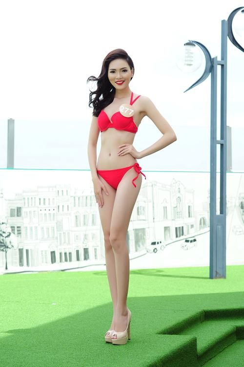 Ảnh bikini nóng bỏng của dàn thí sinh HH Bản sắc Việt - 11