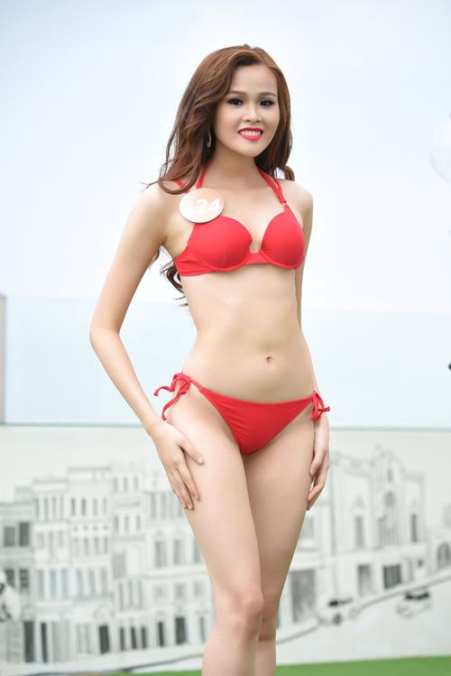 Ảnh bikini nóng bỏng của dàn thí sinh HH Bản sắc Việt - 13