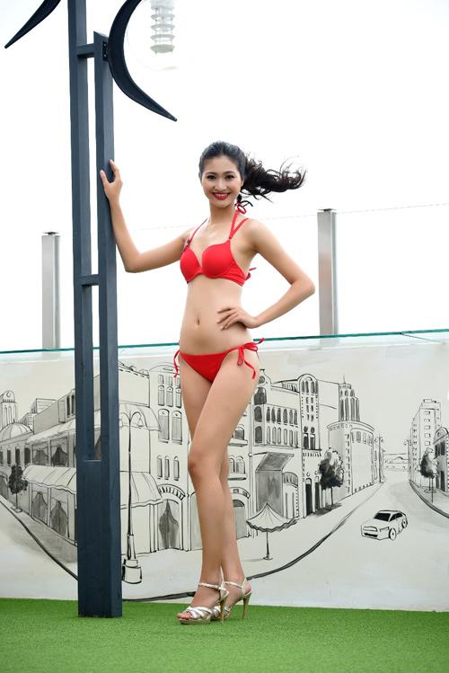 Ảnh bikini nóng bỏng của dàn thí sinh HH Bản sắc Việt - 12