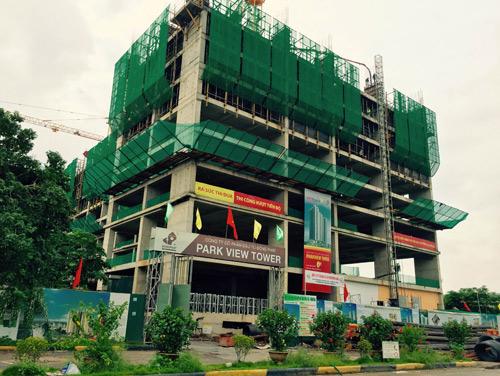 """""""Nóng"""" tiến độ và ưu đãi tại chung cư Đồng Phát Park View Tower - 1"""