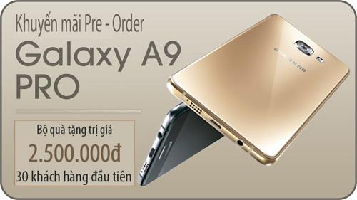 Đặt trước Galaxy A9 Pro nhận bộ quà tặng trị giá 2.500.000đ tại Nhật Cường Mobile - 3