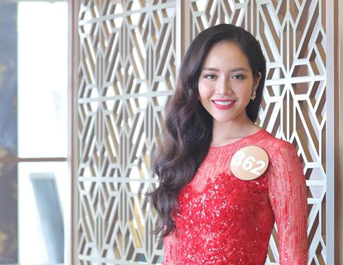 Chân dài cao 1m78 vượt trội ở Hoa hậu Bản sắc Việt - 2