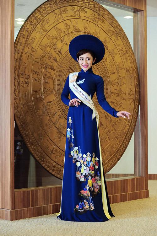 Chân dài cao 1m78 vượt trội ở Hoa hậu Bản sắc Việt - 12