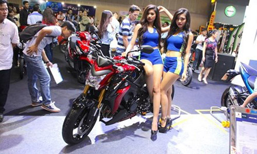 Thị trường xe máy Việt vẫn tăng trưởng - 1