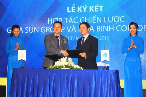 Tập đoàn Sun Group hợp tác chiến lược với Hòa Bình Corp - 2