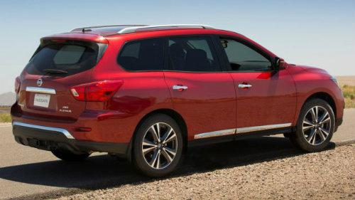 Nissan Pathfinder 2017 mạnh hơn, tiện lợi hơn - 2