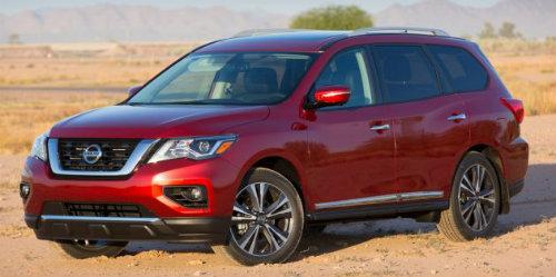 Nissan Pathfinder 2017 mạnh hơn, tiện lợi hơn - 1