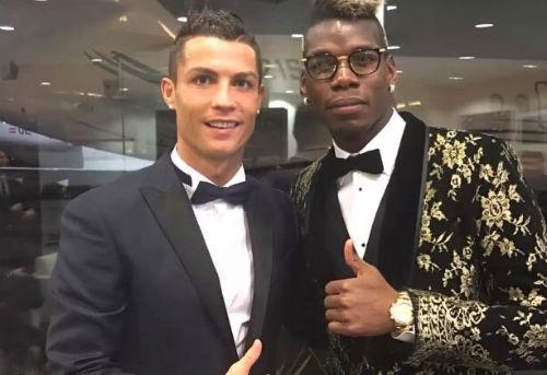 """Paul Pogba: """"Ronaldo xứng đáng giành Quả bóng vàng"""" - 1"""