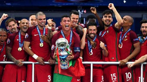 BXH FIFA tháng 7: Bồ Đào Nha của CR7 lên số 6 thế giới - 1